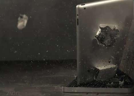Exploding iPad Ads