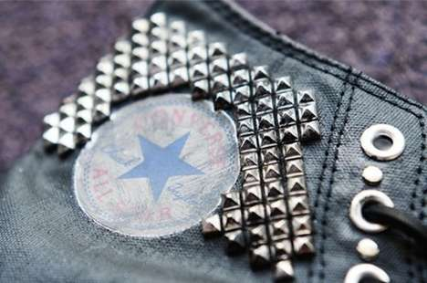 Sharp Studded Sneakers