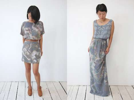 Softly Tie-Dyed Fashion - The Shabd Simon-Alexander SS11 Collection is Stunningly Ethereal