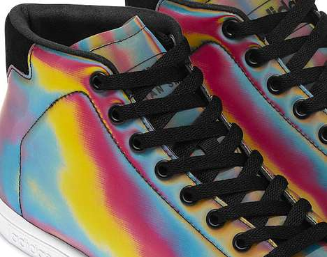 The Adidas Originals Premium Iconics Color Pack is a Groovy Pair of Shoes
