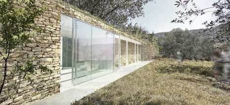 Invisible Eco Houses - The Marco Bernardini Age House Saves You Money
