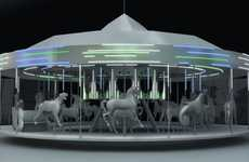 Solar-Powered Carousels