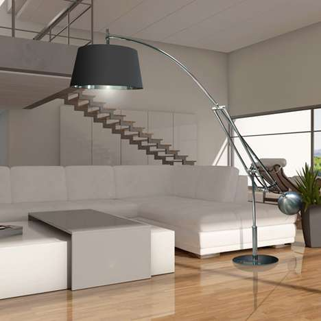 Super-Sized Home Lighting - LM Studio's Extra Large Floor and Suspension Lamps