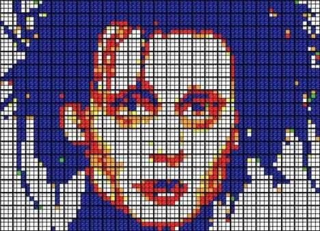 Rubik's Cube Portraits
