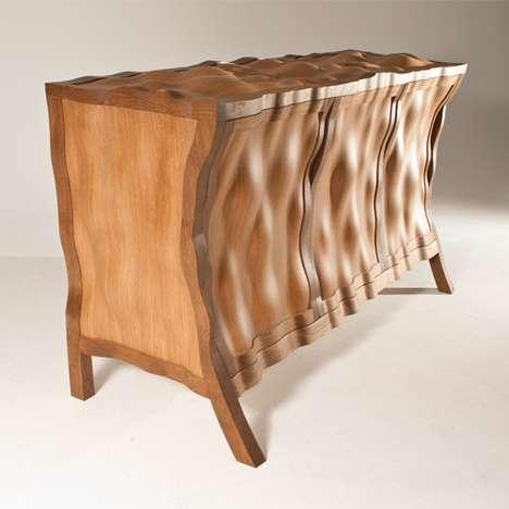 Warped Wooden Furniture