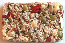 Seedy Snack Bars - Raw Crunch Bars Present a New and Natural to Give Your Body Energy