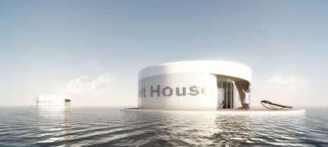 Revolving Houseboats