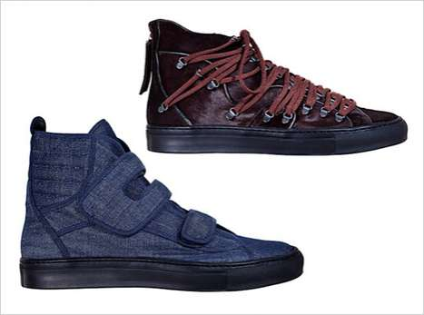 The Raf Simons AW11 Collection Features Wicked Kicks With Eccentric Style