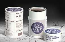 Faux Coffee Packaging - Sofie Ehlers Creates a Fictitious Brand With a Sweet Design