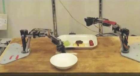 Elderly-Feeding Robots