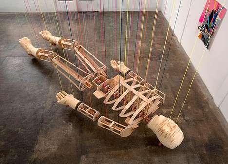 Dead Suspended Artworks