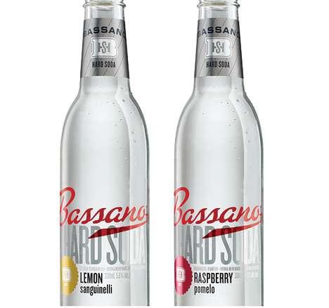 Sophisticated Soda Bottles