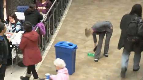 Recycling Flashmobs
