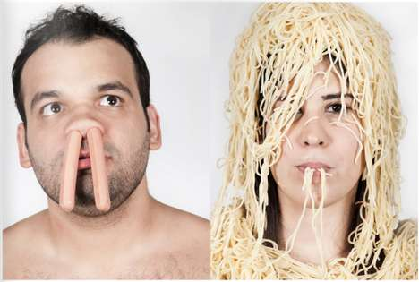 Fascinating Food Fight Pictorials
