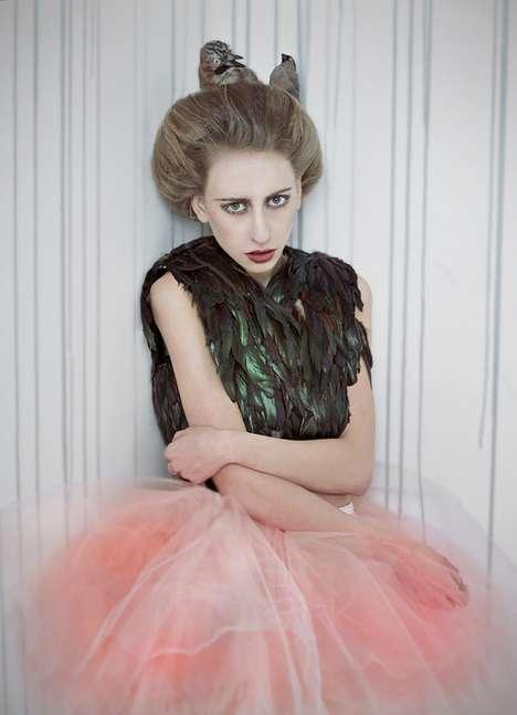 Fowl-Inspired Fashion Shoots