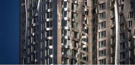 Shape-Changing Towers - Frank Gehry's Wrinkled Beekman Tower has a Dynamic Exterior