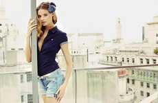 Cityscape Fashion Shoots - These Reserved S/S'11 Looks Stand Out in the City