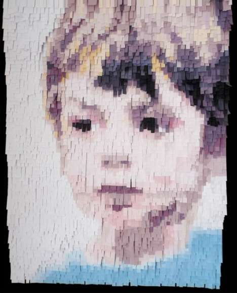 Massive Paper Portraits