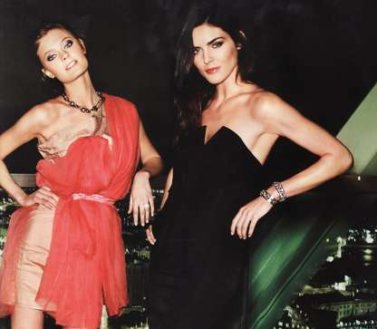 Glam Cocktail Party Editorials - Have a Girl's Night Out With the Vogue Spain Issue