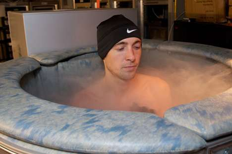 Lab-Inspired Athletic Therapy - Salazar Cryosauna Uses Nitrogen Vapors to Cool to 275 Below Zero