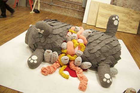 Parasitic Roadkill Plushies