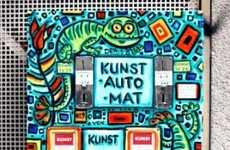 Art Vending Machines - The Kunstautomat in Berlin Dispenses Miniature Masterpieces