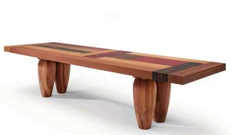 Intricate Interlaid Furniture