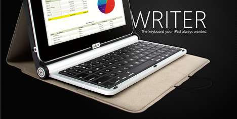 Tactile Tablet Keyboards - Writer by Adonit is the Ultimate Professional Add-On for the IPad