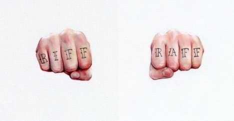 Minimalist Tattoo Paintings