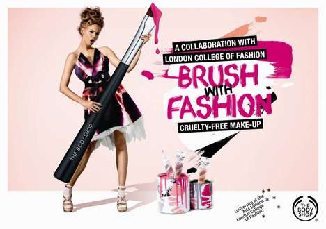 Cruelty-Free Makeup Kits - The Body Shop's Brush With Fashion Collection Refuses to Abuse