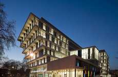 Upside Down Architecture - This Stunning City of Westminster College Campus Turns Design on Its Head