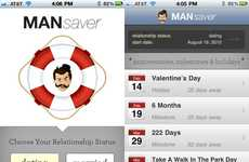 Forgetful Boyfriend Apps - Never Forget to Celebrate Romantic Occasions With the MANsaver App
