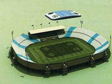 Remote-Controlled Stadium Shields