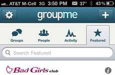 TV Group-Chat Apps - GroupMe Featured Groups Will Connect Brands to Their Audiences