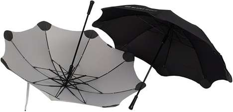 Round-Tipped Parasols