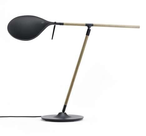 Canoe-Inspired Desk Lights