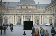 Traveling Mystery Box Adverts  - La Machine à Voyager Asks Parisians Where They'd Like to Escape To