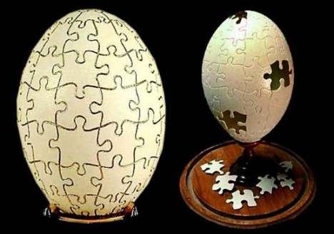 Puzzling Egg Art