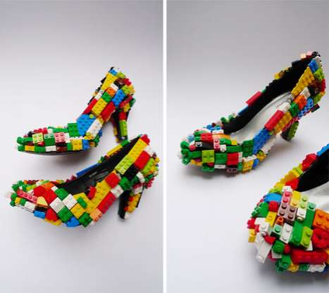 Building Block Heels - Finn Stone's Limited Edition LEG-GO Stilettos Are Colorful and Playful