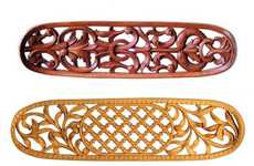 Intricately Carved Skateboards