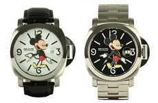 Remixed Disney Timepieces - The OVER THE STRiPES x Beams Mickey Mouse Watches are Nostalgic
