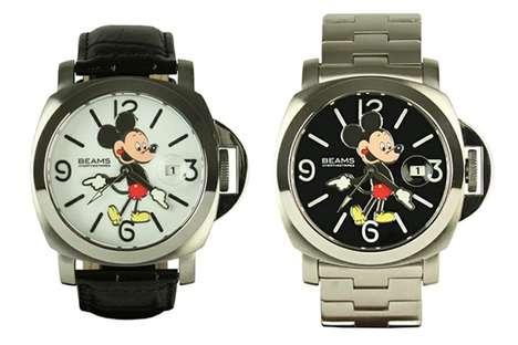 Remixed Disney Timepieces