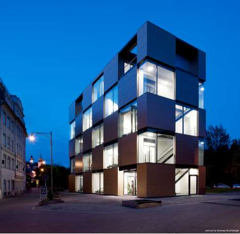 Sleek Cubist Structures