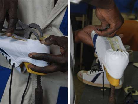 African-Sourced Sneakers - SAWA's Classic Shoes Strike a Balance Between Style and Substance