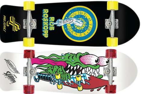 Retro Skateboard Revivals