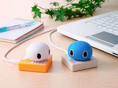 Twitter-Reading Toys - The Twimal Gadgets by Takara Tomy Read Your Tweets Aloud