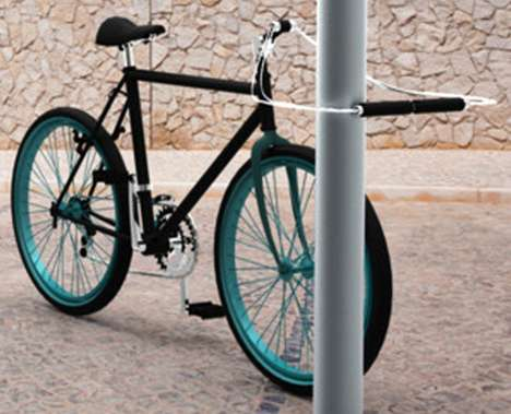 Built-In Anti-Theft Bikes