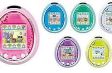 Virtual Handheld Pets - Tamagotchi iD L Adds New Features and Designs to an Old Classic