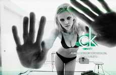 Controversial Cursing Campaigns - The Lara Stone CK One Billboard May Say the F-Word
