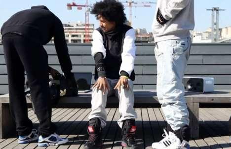 Tune-Emitting Shoes